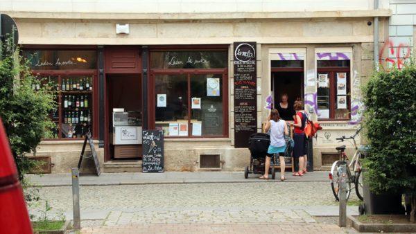 Der Laden La Moka - italienisches zum Mitnehmen.
