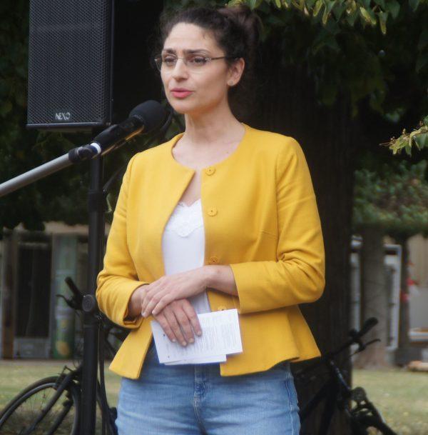 Noura Derani warb auch für den Besuch des Damaskuszimmers.