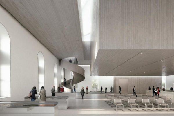 So soll der Innenraum des Gebäudes aussehen. © Architekturbüro Nieto Sobjano Arquitectos