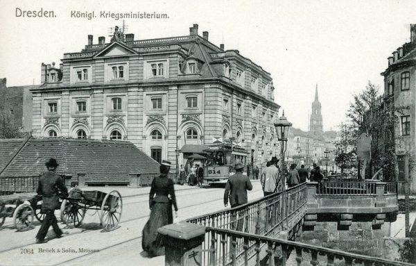 Das Blockhaus um 1900. © Brück & Sohn Kunstverlag