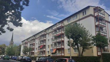 Mehrfamilienhäuser auf der Löwenstraße