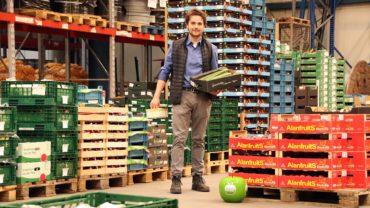 Sjors Matser leitet den neuen Großhandel an der Magazinstraße