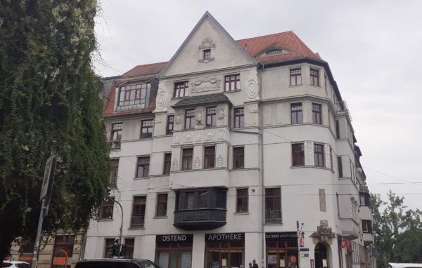 Löwenstraße 12, oben links Atelierwohnung Teichmanns