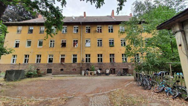 Ein Hof des Gebäudeensembles