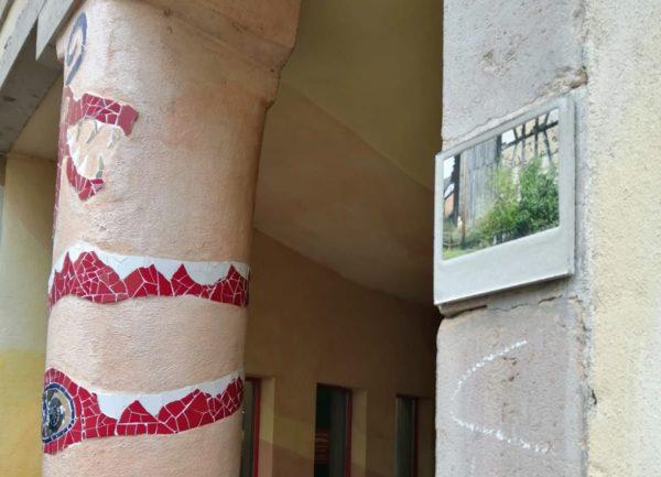 Fliesenkunst in der Kunsthofpassage
