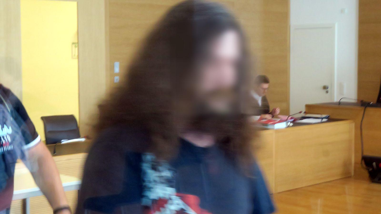 Andrej F. im Landgericht Dresden
