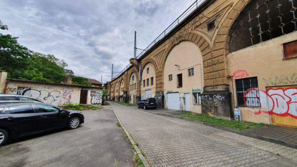 Bahnbögen an der Eschenstraße