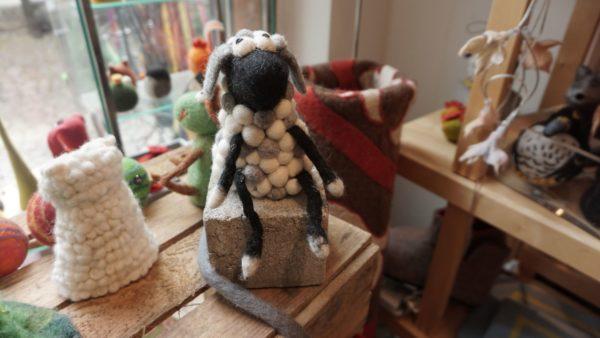 Ein Schaf aus Schaf.