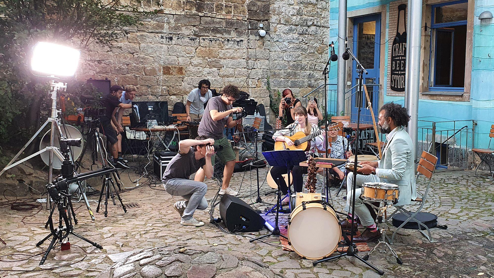 Sommerkonzert in der Kunsthofpassage