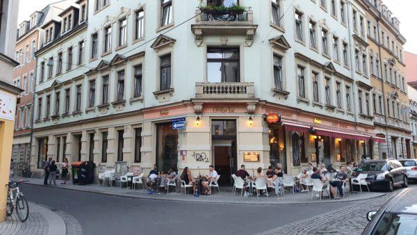 Habibi an der Ecke Louisen-/Martin-Luther-Straße