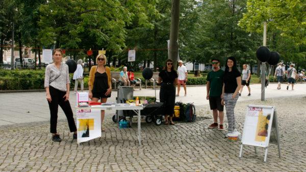 SafeDD und die Diakonie Dresden haben den Gedenktag in Dresden erstmals veranstaltet