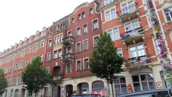 Der Klinkerbau aus der Gründerzeit steht unter Denkmalschutz.