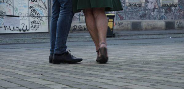 So elegant geht es selten zu auf der Alaunstraße.