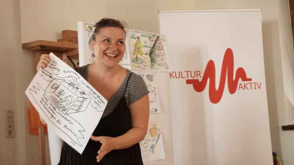 Paula Huhle ist eine der Künstlerinnen, die beim Projekt mitmachen. Hier erzählt sie von ihren liebsten Kinderspielen.