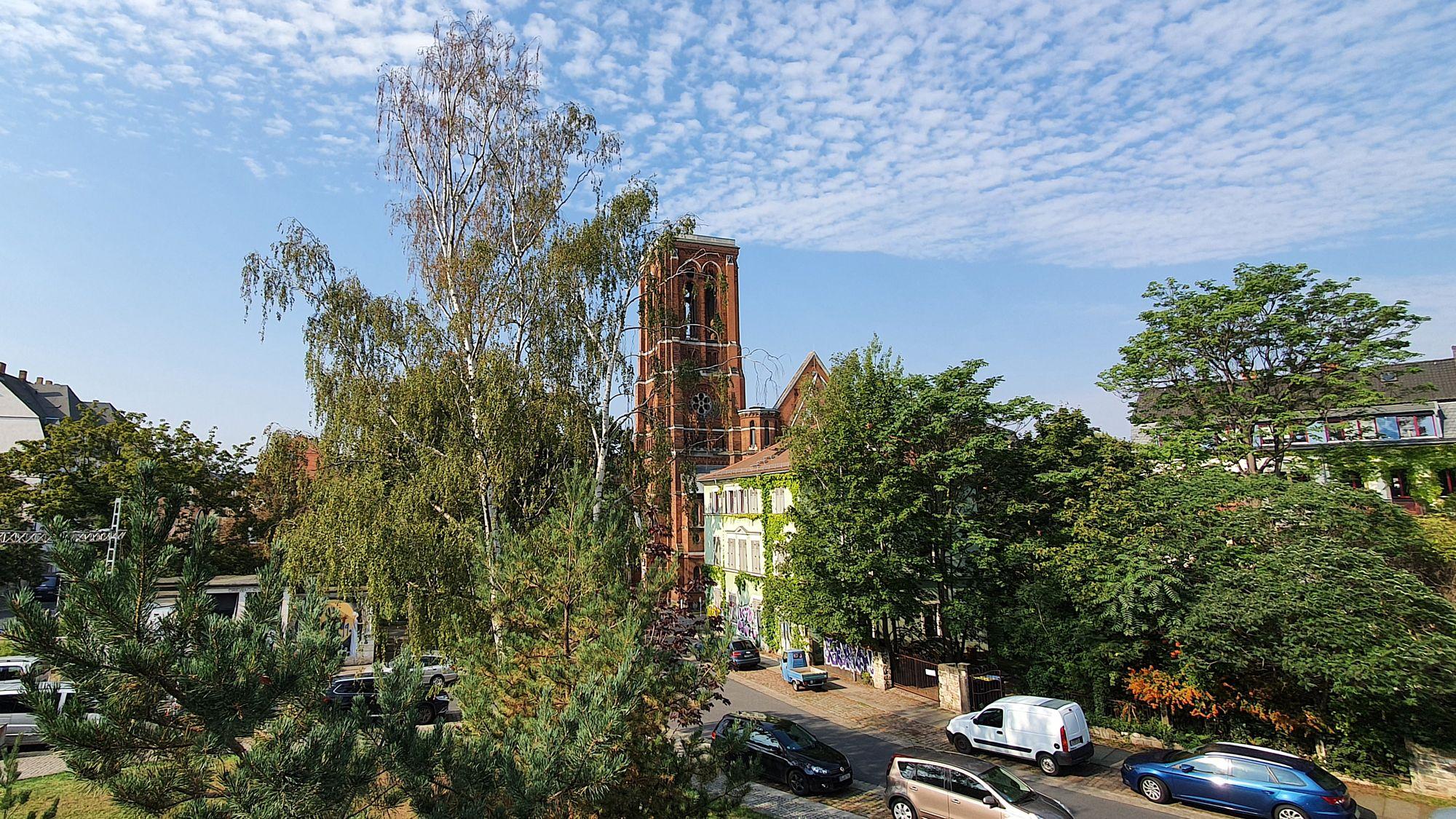 St.-Pauli-Ruine im Hecht-Viertel