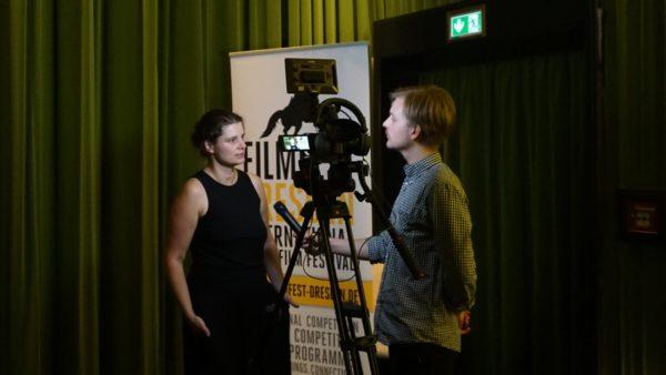 Pressekonferenz Filmfest: Anne Gaschütz im Interview