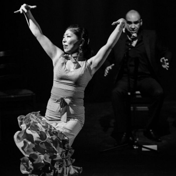 Enrique Correa: Gesang - Maria Mellado Prenda: Gesang - Migiwa Shimizu: Tanz - Josel Ratsch: Gitarre