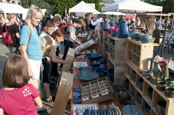 Blick auf den vergangenen Keramikmarkt. Foto: PR