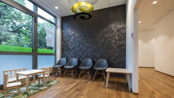 Wartezimmer in der Kieferorthopädie