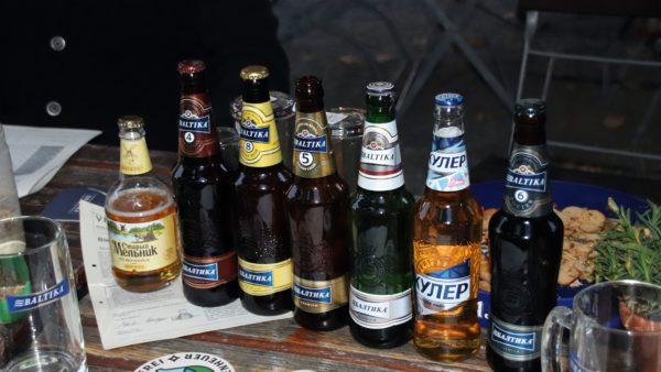 Sieben Biere wurde getestet
