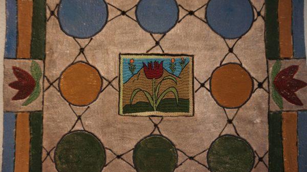 """""""Buntglas"""" - Textilkunst aus Frankreich mit afghanischem Kern."""