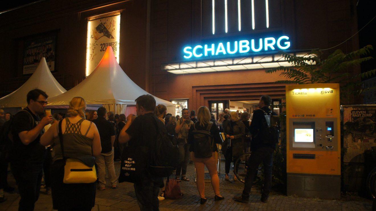 Keine Besuchermassen wie gewohnt durch Corona: Das 32. Filmfest in Dresden. Foto: Philine