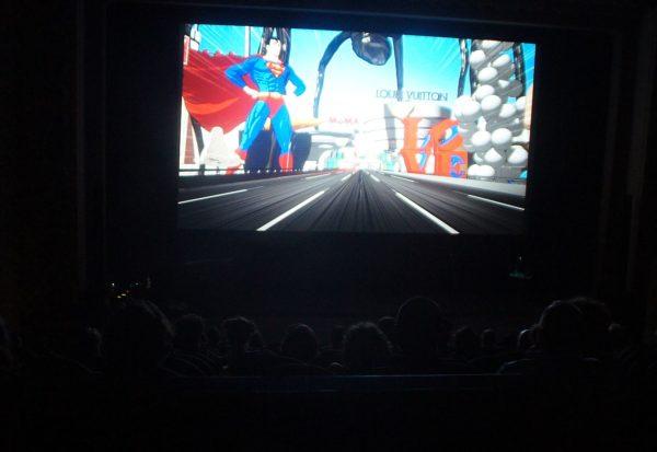 Blick in den Kinosaal zur Eröffnung des 32. Filmfestes Dresden. Foto: Philine
