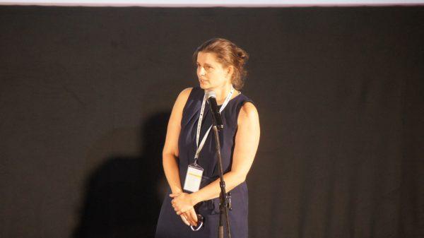 Hat gemeinsam mit Sylke Gottlebe die Leitung des Filmfests 2020 inne: Anne Gaschütz. Foto: Philine