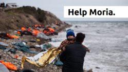 """Volt hat die Initiative """"EuropeCares ins Leben gerufen, um den Menschen im Lager von Moria zu helfen. Foto: PR"""