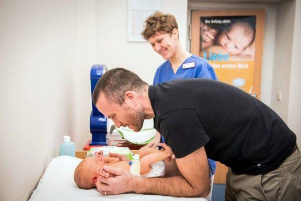 Eltern-Kind-Bindung im Diako - Foto: Diakonissenkrankenhaus