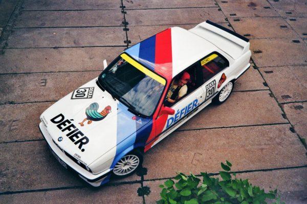 Der Défier-Dealer-BMW. Foto: PR