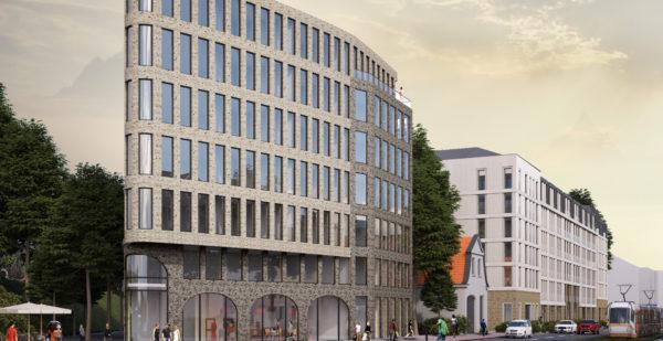 Großenhainer Straße 3 Visualisierung prasch buken partner architekten mbB
