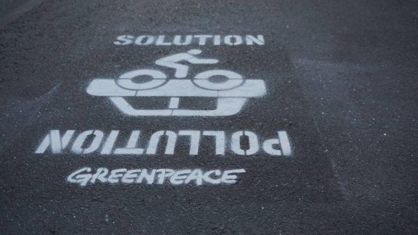 Mit besseren Bedingungen für den Radverkehr könnte der Luftverschmutzung entgegengewirkt werden.