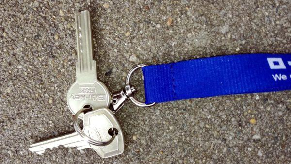 Gefundener Schlüssel