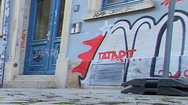 Auch die lokale Street-Art-Szene beteiligte sich an der passenden Gestaltung der Umgebung.