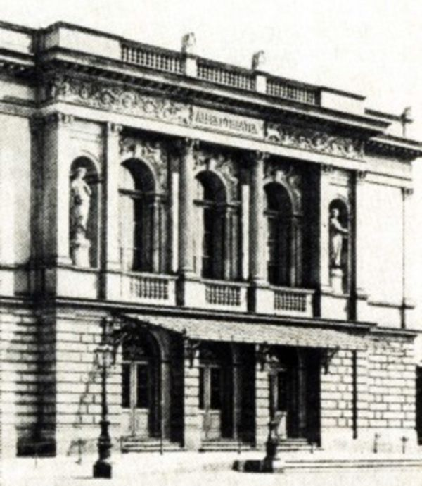 Alberttheater um 1875