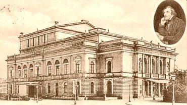 Alberttheater - Postkarte um die Jahrhundertwende