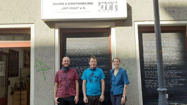 2020-23-09-Thomas Schreiter, Jan Kossik, Joelle Vanderbeke