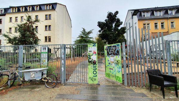 Schließdienst für Louisengrün-Spielplatz gesucht.