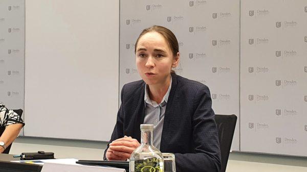 Bürgermeisterin Kristin Kaufmann. Beigeordnete für Arbeit, Soziales, Gesundheit und Wohnen