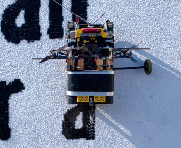 Robotmuralist im Einsatz - Foto: concretecandy.de