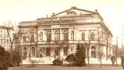 Alberttheater - Postkartenmotiv von 1913