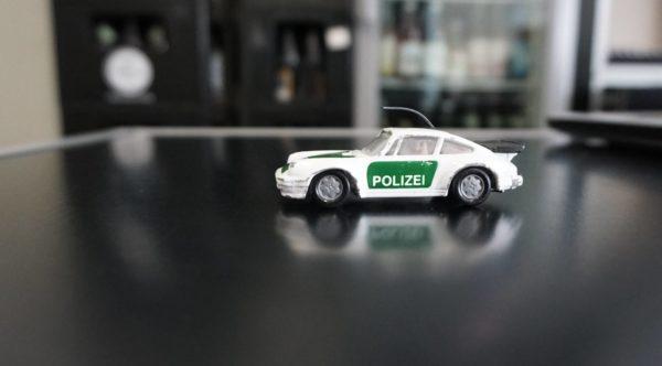 Der Polizeiporsche sorgt für Begeisterung - warum eigentlich?