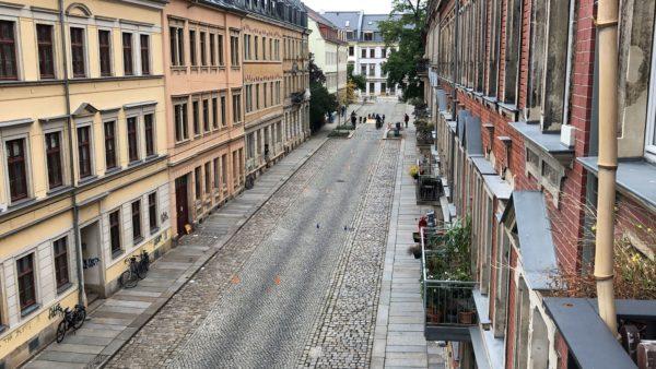 Leere Talstraße - Foto: privat