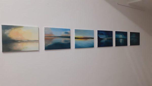 2020-10-12-Zu sehen in den Räumen des Künstlerbundes