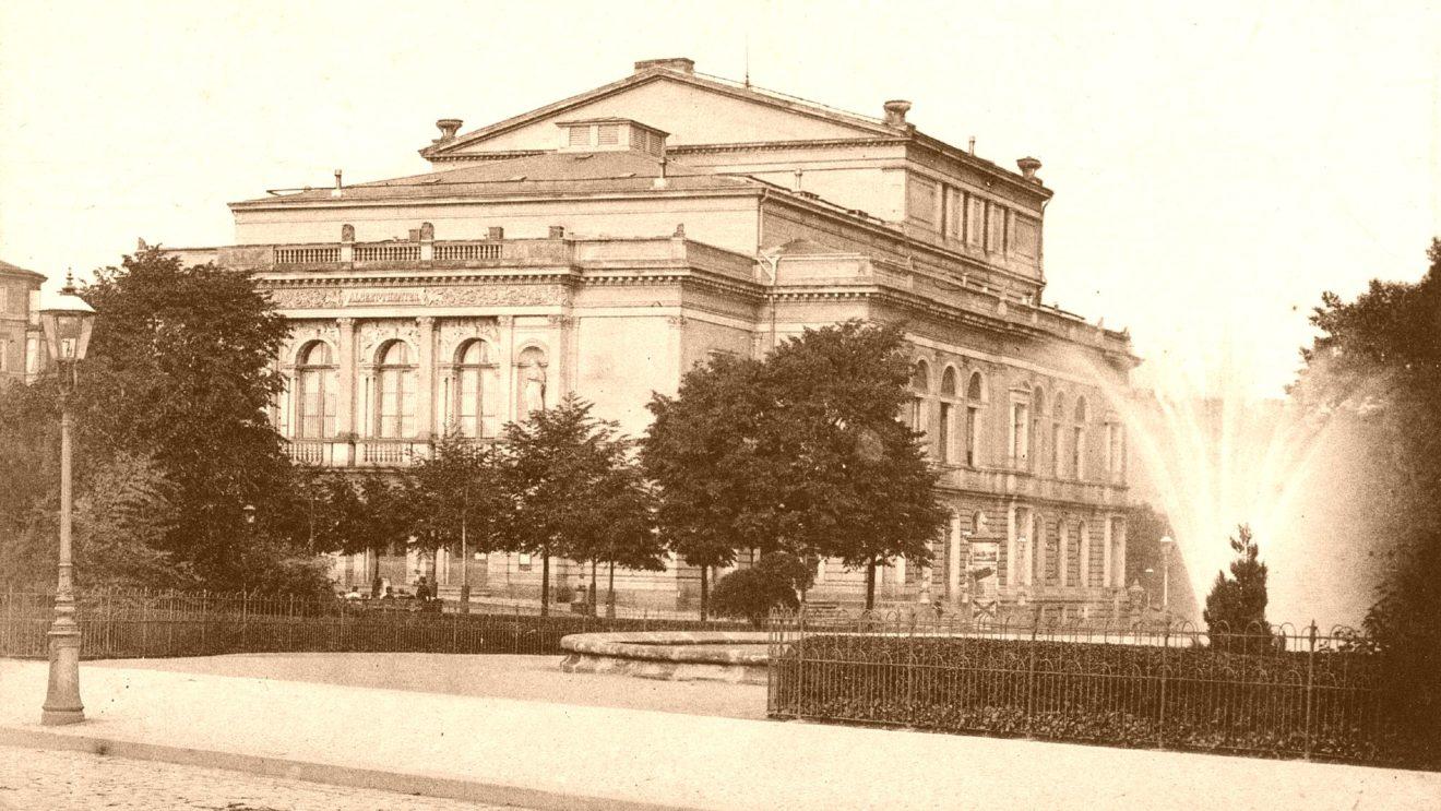 Alberttheater - Postkarte um 1920