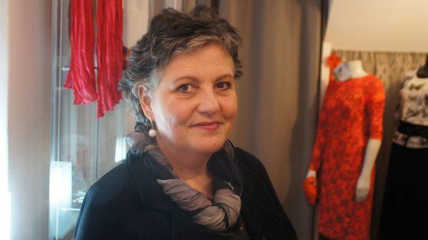 Frau Lalú, die Verwandlerin. Foto: Philine