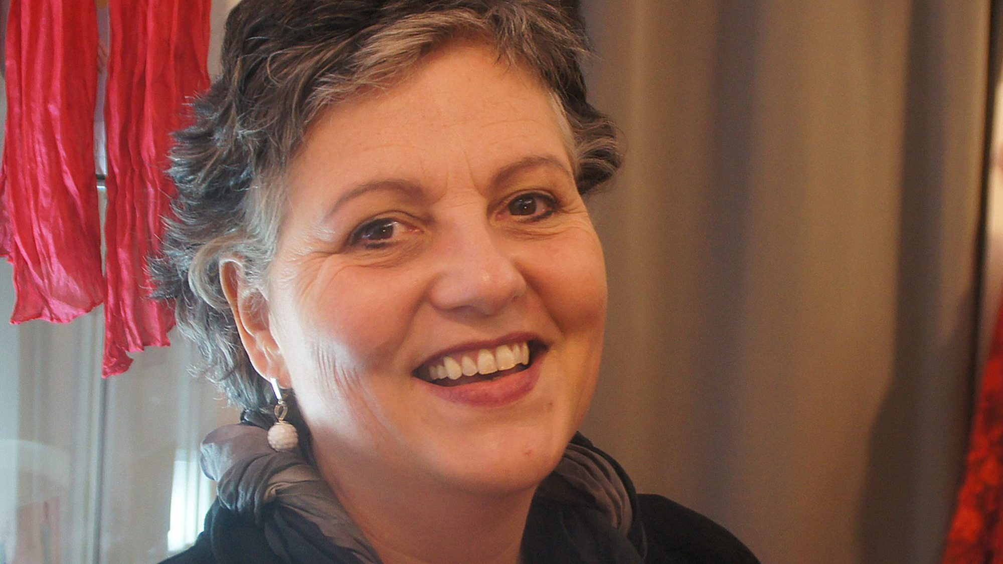"""Steffi Riechert ist Stilberaterin: """"Wie eine Kur für die Seele!"""" Foto: Philine"""
