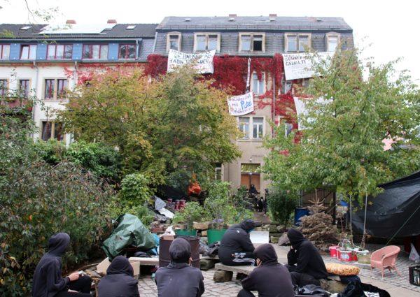 Besetztes Haus