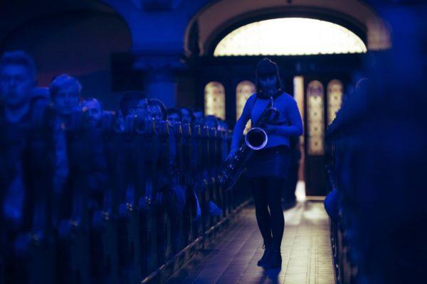 Saxophon statt Orgel - auch dieses Jahr erklingen wieder ungewohnte Töne in der Martin-Luther-Kirche. Foto: Moritz Schlieb